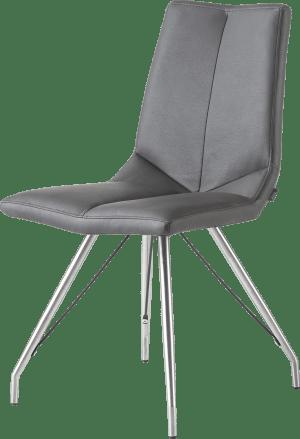 chaise - piettement eiffel - tatra anthracite
