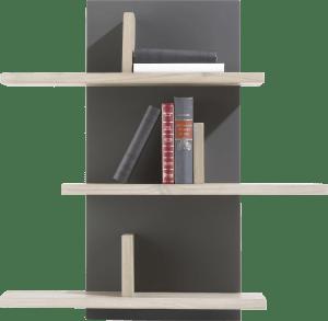 wandplank 6-niches - 80 cm