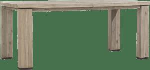 uitschuiftafel 190 (+ 50) x 105 cm