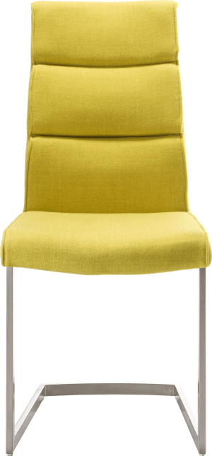 eetkamerstoel - swing rvs vierkant