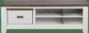tv-sideboard 160 cm - 1-korb + 4-nischen