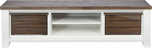 tv-dressoir 190 cm - 2-boxen + 2-niches