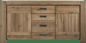 sideboard 185 cm - 2-tueren + 3-laden