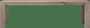 ausziehtisch 200 (+60) x 100 cm - holz 12x12/10x14