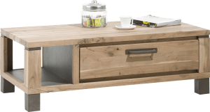table basse 120 x 60 cm 1-tiroir + 1-niche