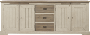 sideboard 240 cm - 4-tueren + 3-laden + 2-tabletts