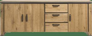 sideboard 210 cm - 3-tueren + 3-laden