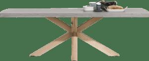 eetkamertafel 180 x 103 cm - beton blad