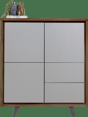 armoire 125 cm - 3-portes + 2-tiroirs