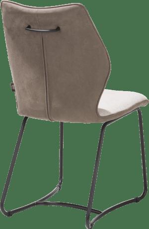 eetkamerstoel - zwart frame - nosag - combi kibo / fantasy