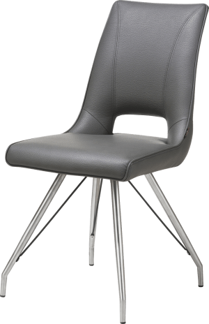chaise inox - tatra antracite ou tatra charcoal + accent