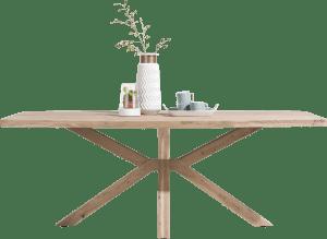 eetkamertafel 180 x 100 cm - houten poten