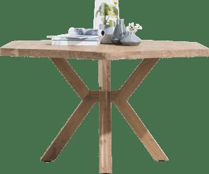 table 150 x 130 cm - pieds en bois