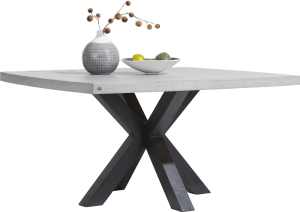 eetkamertafel 150 x 150 cm - beton blad