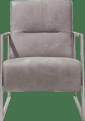 fauteuil met arm rvs