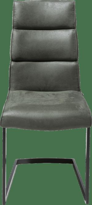 stuhl - swing schwarz viereckig + handgriff viereckig-savannah/kibo