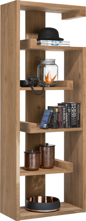 bibliotheque 5-niches - 70 cm