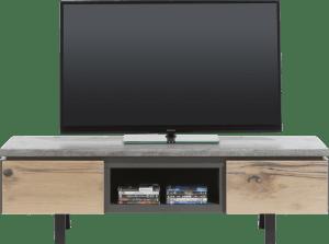 tv-dressoir 180 cm - 1-lade + 1-klep + 1-niche