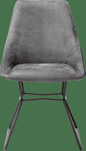chaise - pieds poudres noir - combinaison calabria/tatra