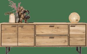 sideboard 240 cm - 3-tueren + 2-laden