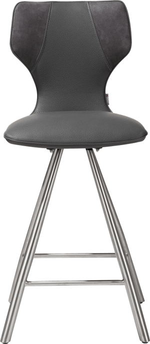 chaise de bar - inox - combinaison calabria & tatra