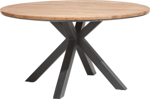 table ronde 150 cm chene kikar + mdf