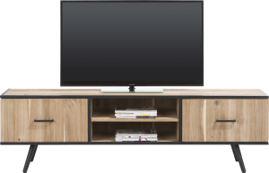tv-dressoir 190 cm - 1-deur + 1-lade + 2-niches