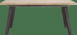 eetkamertafel 190 x 100 cm - geheel hout