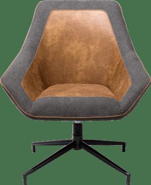 fauteuil - frame noir - secilia / blues anthracite