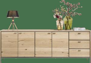 sideboard 240 cm - 4-tueren + 3-laden