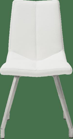 chaise inox 4-pieds