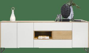 dressoir 240 cm - 3-deuren + 3-laden + 1-niche (+ led)