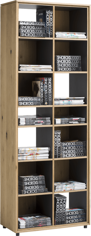 bibliotheque 70 cm - 14-niches