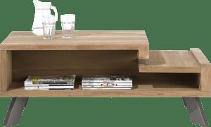 salontafel 60 x 120 cm + 2-niches