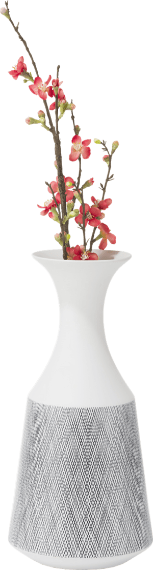 vase dagny - large - hauteur 41,5 cm - blanc