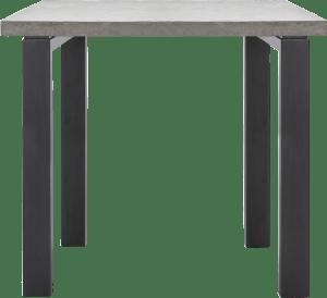bartafel 130 x 90 cm (hoogte: 92 cm)