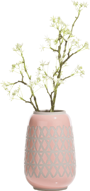 vase nikki medium - rose