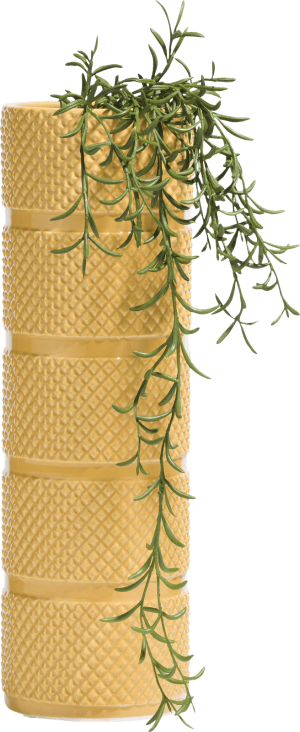 vase lucy large - gelb