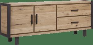 dressoir 210 cm - 2-deuren + 2-laden