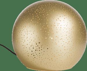 chiara, tischlampe 1-flammig - durchmesser 25 cm