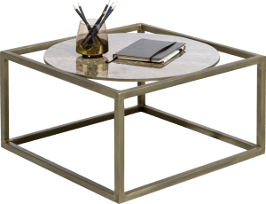 table d'appoint 60 x 60 cm - ceramique
