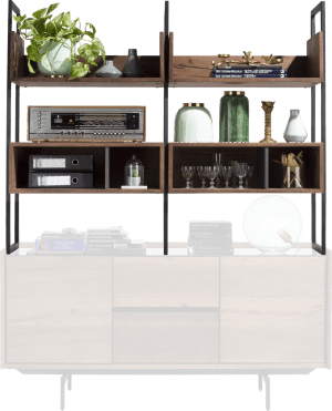 upperpart for sideboard 155 cm - 6-niches (+ sideboard 40690)