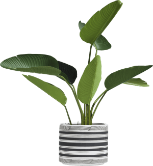 bloempot sarah large - multicolour