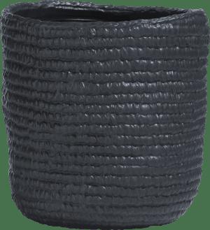 vaas nina medium - zwart
