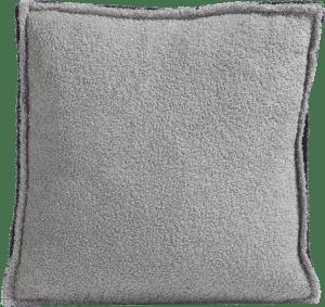 cushion fluffy grey - 45 x 45 cm