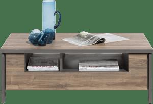 salontafel 110 x 60 cm + 1-niche