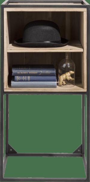 box met legplank