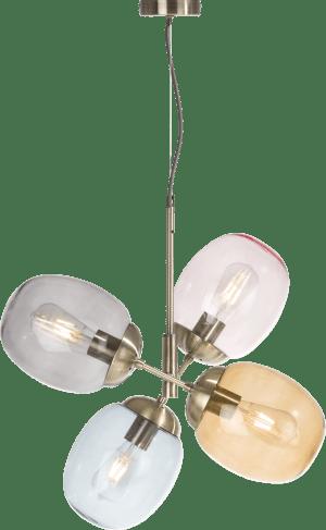 brandon, hanglamp 4-lamps (e27)