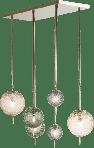 erez, lustre 6-ampoules