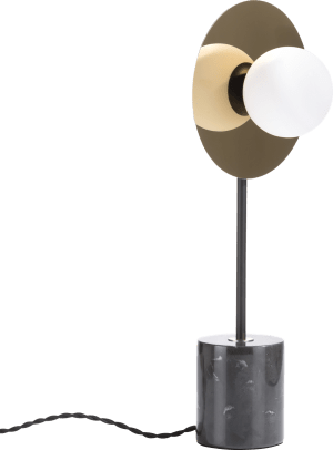 jonah, tafellamp 1-lamp (g9) met dimmer